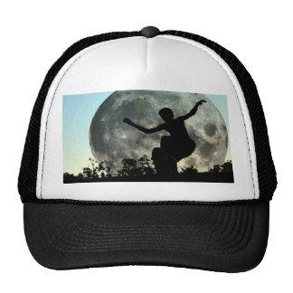 ZAZ103.Sk8ter Moon Launch. Trucker Hat