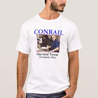 ZAZ111.BHK.Harvard Tower, CONRAIL, Harvard Towe... T-Shirt