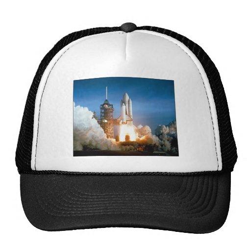 ZAZ213 STS1 Launch Trucker Hat