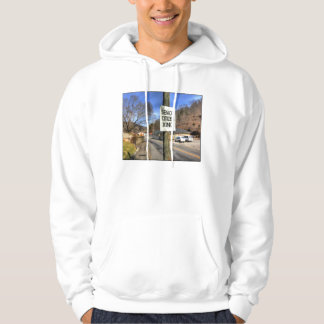 ZAZ340 Senior Citizen Crossing Sweatshirt