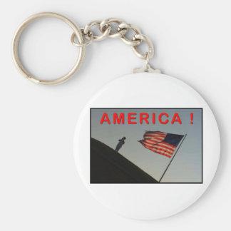 ZAZ351 America! Keychain