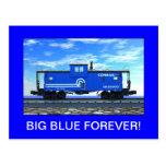 ZAZ420 BIG BLUE FOREVER! POSTCARDS