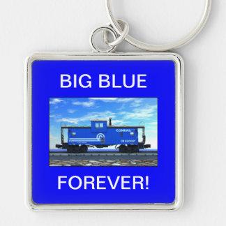 ZAZ420 Blue Caboose Keychain