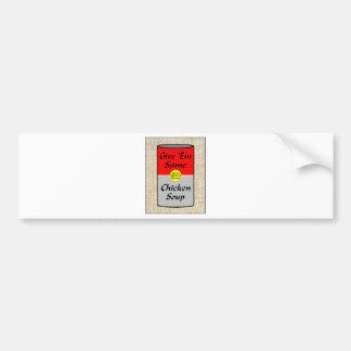 ZAZ421 Chicken Soup Bumper Sticker