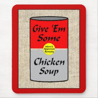ZAZ421 Chicken Soup Mouse Pad