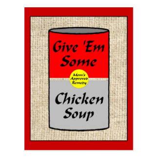 ZAZ421 Chicken Soup Postcard