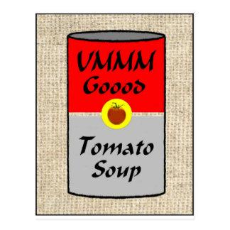ZAZ422 Tomato Soup Postcard