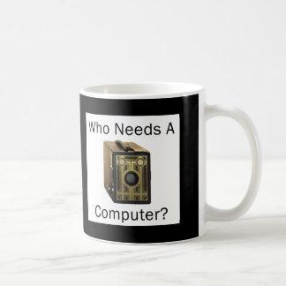 ZAZ423 que necesita un ordenador Taza Clásica