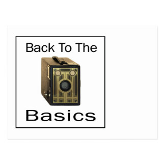 ZAZ424 Back to the Basics Postcard