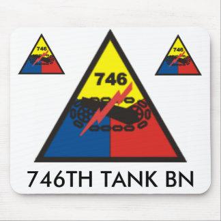 zaz-746TH TANK BN Mouse Pad