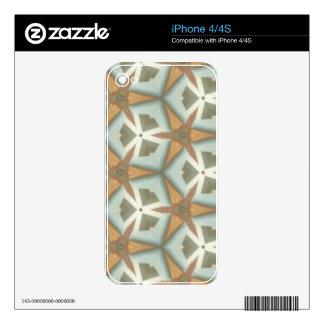 ZAZ Mid Cent Triangle Patt iPhone 4 Skins