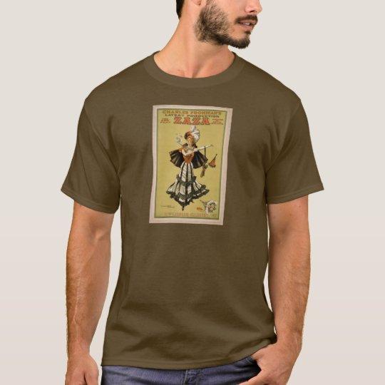 Zaza, 'Mrs Leslie Carter' Vintage Theater T-Shirt