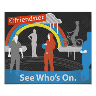 zazFriendster - See Who s On Poster