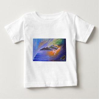 zazzel tropicalsunrise print.jpg baby T-Shirt