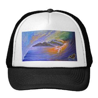 zazzel tropicalsunrise print.jpg trucker hat