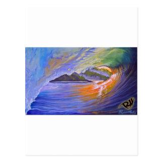 zazzel tropicalsunrise print.jpg postcard