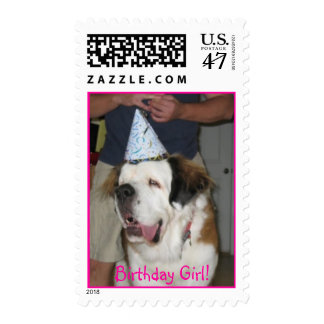 zazzle2, Birthday Girl! Postage