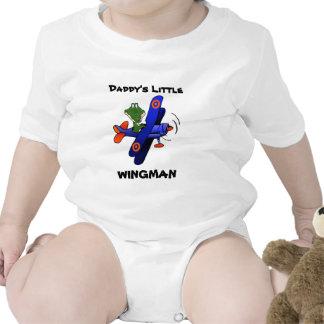 zazzle2, el poco del papá, WINGMAN Traje De Bebé