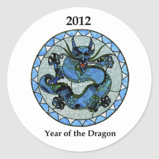 Zazzle 2012 Dragon Stickers