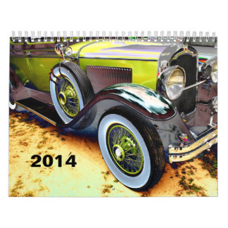 ZAZZLE AWARD 2014 antique car Calendar