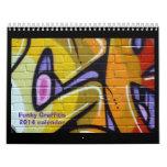 ZAZZLE AWARD graffiti calendar 2014