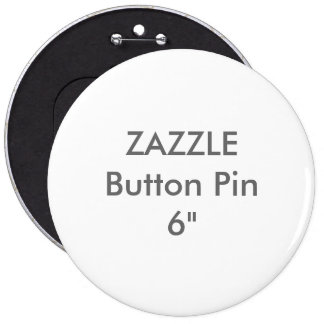 "Zazzle Blank Custom 1 1/4"" Colossal Button Pin"