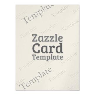Zazzle Card Custom Template Champagne Invite
