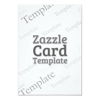 Zazzle Card Custom Template Recycle White Invite