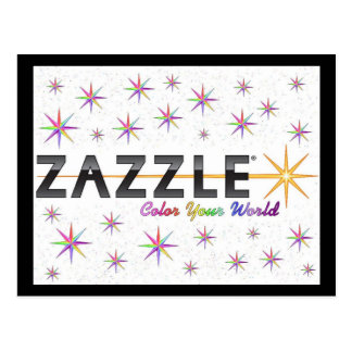 Zazzle Color Your World Postcard