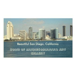 Zazzle com Sandiegodianna Art Gallery Business Ca Business Card Template