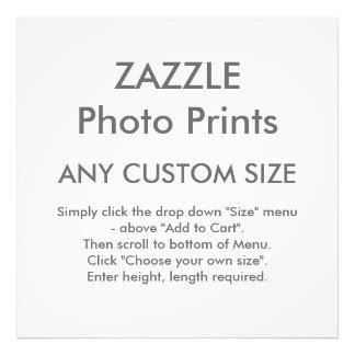Zazzle cualquier tamaño de encargo personalizó la cojinete