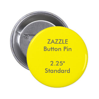 "ZAZZLE Custom 2.25"" Standard Round Button Pin"