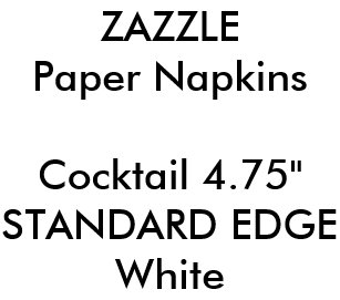 Templates Napkins | Zazzle