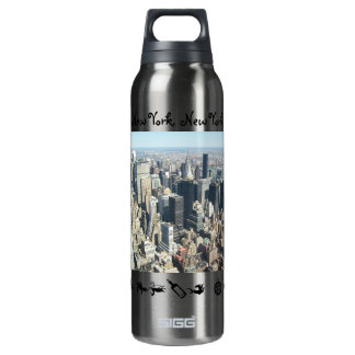 Zazzle Customized 16 Oz Insulated SIGG Thermos Water Bottle