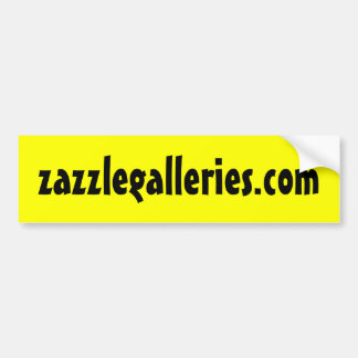 Zazzle Galleries Bumper Sticker