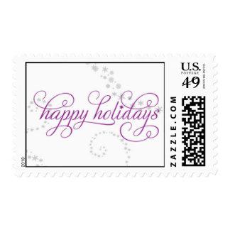 zazzle-happyholidays postage stamps