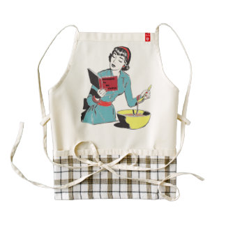 Zazzle HEART Apron, Cookbook for the Clueless. Zazzle HEART Apron