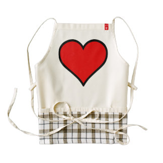 Zazzle Heart Apron, Love Zazzle HEART Apron