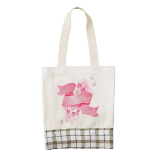 "Zazzle Heart - Mother's Day ""Best Mother Ever"" Zazzle HEART Tote Bag"