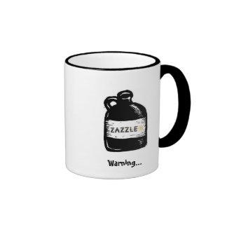 Zazzle in your joe! ringer mug