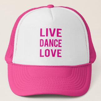 Zazzle Live Dance Love Hat