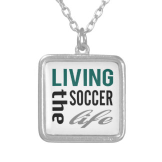 Zazzle Living The Soccer Life Necklace