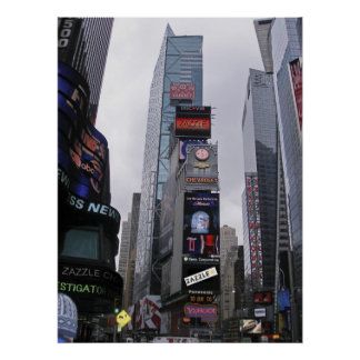 ¡ZAZZLE lo hace a Broadway Poster