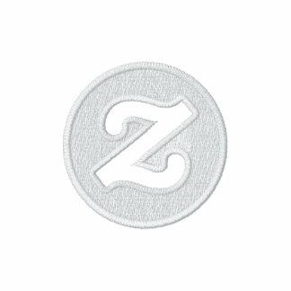 """Zazzle logo - 2"""" CircleZ Embroidered Hooded Sweatshirt"""