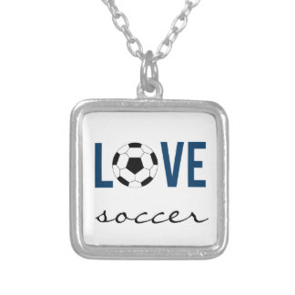 Zazzle Love Soccer Necklace