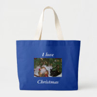 Zazzle MaiMai, I love, Christmas bag