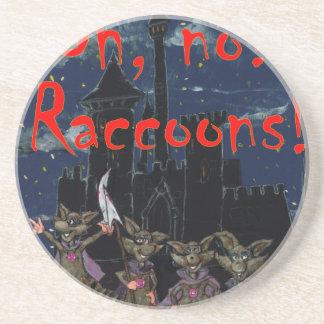 Zazzle ohno raccoonsOh, no! Raccoons! Coaster