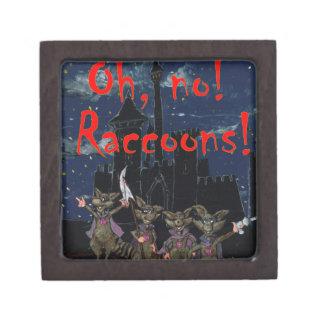 Zazzle ohno raccoonsOh, no! Raccoons! Gift Box