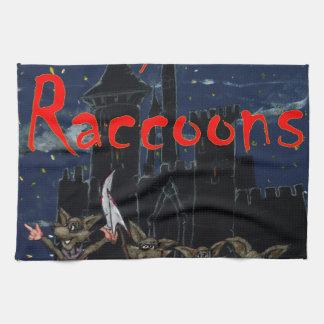 Zazzle ohno raccoonsOh, no! Raccoons! Hand Towel