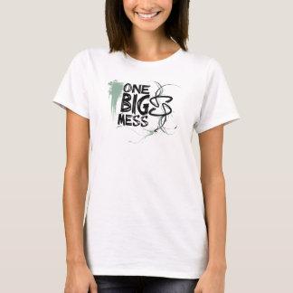 Zazzle_One_Big_Mess_Green T-Shirt